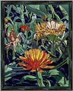 stained glass asters