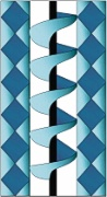Stained Glass Cabinet Door Pattern Corkscrew