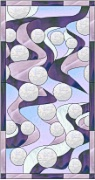 Stained Glass Cabinet Door Pattern Go With The Flow