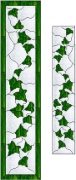 Stained Glass Cabinet Door Pattern Ivy