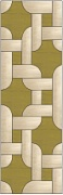 Stained Glass Cabinet Door Pattern Interlocking Squares