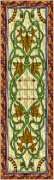 Stained Glass Cabinet Door Pattern Victorian
