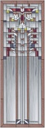 Stained Glass Cabinet Door Pattern Frank Lloyd Wright Cabinet Door