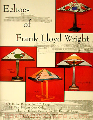 Echoes of Frank Lloyd Wright Front Cover