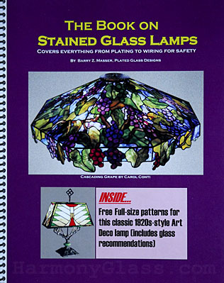The Book on Stained Glass Lamps front cover
