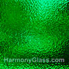 Wissmach Emerald Isle English Muffle Glass
